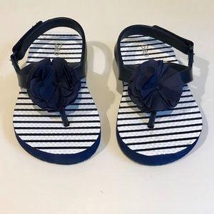 Babt Gap Flower sandal - toddler size 7-8